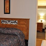 One of the double bed room