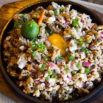 oyster sisig