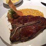 T-Bone Steak - Stanze fast nicht zu sehen