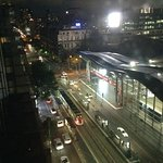 That's Southern Cross Station from the Vibe Savoy