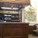 Bancone bar.