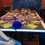 Agréable soirée table d'hôte