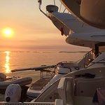 Puestas de sol a bordo de nuestros barcos.