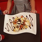 Amazing waffles... dessert special