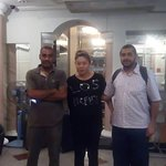 our guest with Mr Somal ( front desk officer )