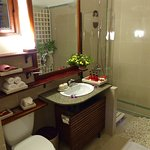 Bathroom in one of the superior rooms