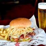 Drake's BBQ Burger