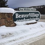 Entrance to Beaver Village Condominiums