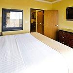 One-Bedroom Suites have a dividing door to bedroom.