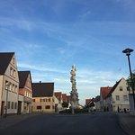 Pestsäeule - Coluna de Praga em Wallerstein