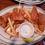 Salmon Fish and Chip
