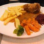 set meal of pork & vegs.