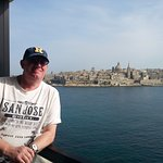 Our balcony with view to Valetta