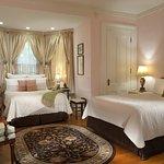 Victorian Suite, bay window