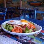 La salade complète au magret de canard