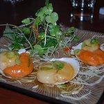 Scallops & Seaweed salad