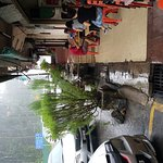 Rainy day and yet it is full house. Order curry mee and soup mee. Overall is not bad. The staff