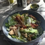 Great salad as a main course for Lunch