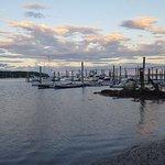 Belfast Bay at sunrise