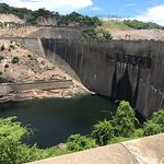 Kariba Dam wall- Dec 2016