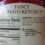 Ketchup is full of fillers instead of tomatoes