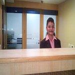 The Front Desk at Hotel Winsar Park Vizag