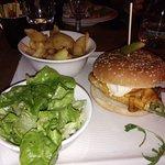 Chicken Tchiz Burger