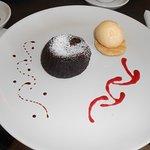 Tortino al cioccolato, Puccini's famous lava cake.