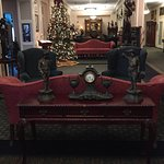 Beautiful antiques in the lobby