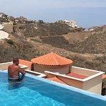 Enjoying your own pool!