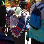 Typische klederdracht voor Tarabuco