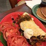 Kielbasa Special & Taco Omelet