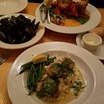 mussels scallop lobster