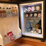 Mini bar could be bit better as 24/24 room service was not avail
