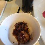 Pudim de tapioca (uma delícia), cake pop (bolinho de atum) e cardápio mais variado para rodízio