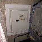 Room 315 - Safe in closet