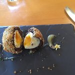 Possibly the yummiest scotch egg ever?
