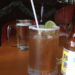 Traditioal Michelada..no Clamato juice..