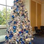 AMT Balcony Lobby at Christmas