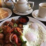 Tasty Red Skin Spuds & Eggs Over Easy