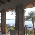Owner's Two Bedroom Suite - Three Frensh Doors Looking Out to The Pacific Ocean and Garza Island
