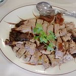 This is the Peking Duck plate - It's wonderful!