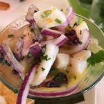 """What a menu!!!! Our mojito sampler had us at """"hello"""" and the ceviche' was off the charts. Cabana"""