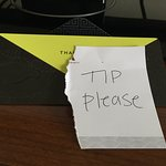 ignoring the do not disturb sign and leaving this was not a good way to get a tip.