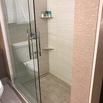 Crusty white stains. This is my suite upgrade. So much for diamond membership. Here's what 100+