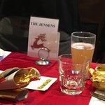 Christmas Lunch Midland Rose & Crown 2016, Jensen Family
