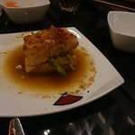 Salmon cooked in Japanese style
