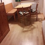 We had rooms with new floors - great for kids and dogs!