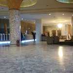 Part of the sparkling lobby