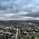 View from the Grandad Bluff in La Crosse, WI